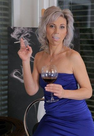 mature women smoking sex